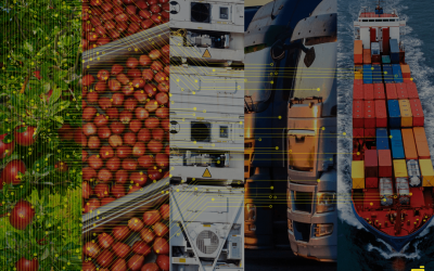 Fruits and Data in Global Supply Chain